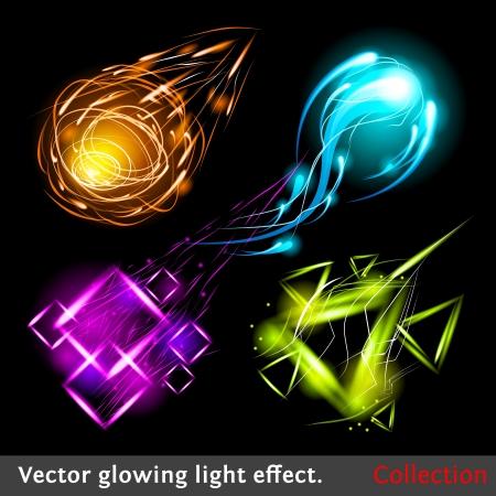 efectos especiales: Diseño espumoso colección de elementos.