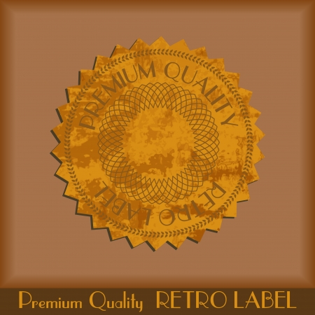 Vintage grunge labels Vector