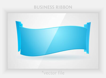 Business ribbon Vector