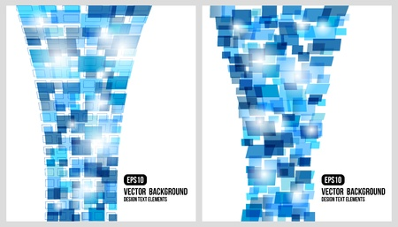 prospects: Abstract background.  rectangle design. Fantasy composition.