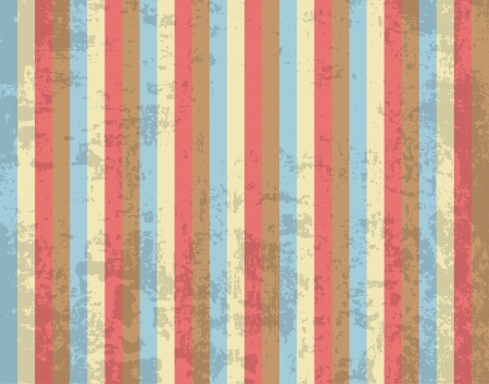 Retro striped Grunge Design Backdrop  Color Wallpaper  Vector