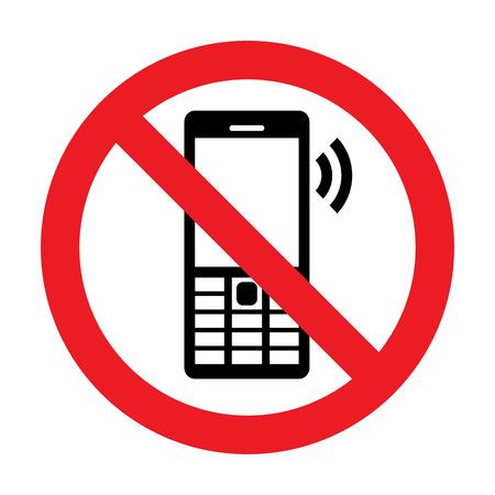 ない携帯電話ベクトル記号