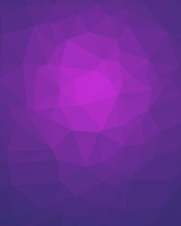 Violet Poligon Vertical Background