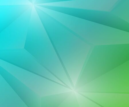 blue and green: Poligon Geometric Green and Blue Gradient Background