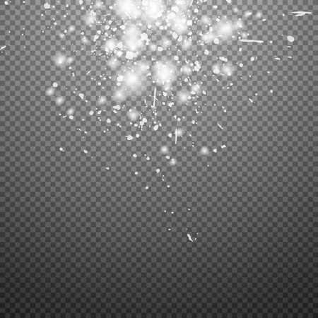 gold stars: Special flare light effects for design and decor. Vector stars shine. Stars fallen