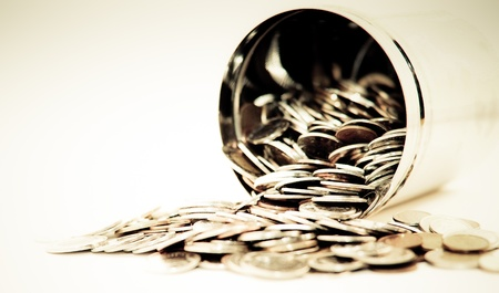 Can full of coins