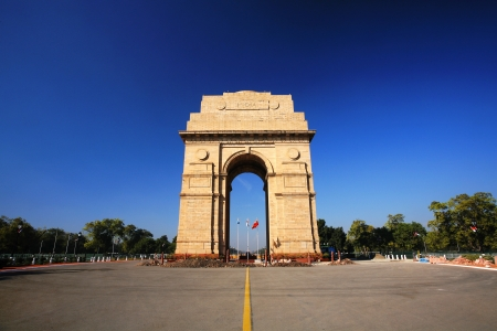 India Gate in New Delhi, India photo