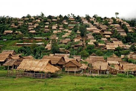 Refugee camp, mae sod, tak, thailand