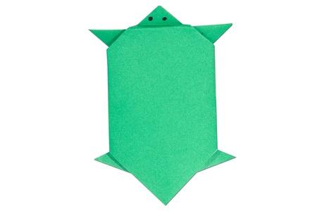 origami turtle Stock Photo - 11968482