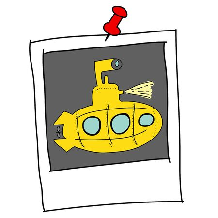 yellow Submarine  Stock Vector - 16455355