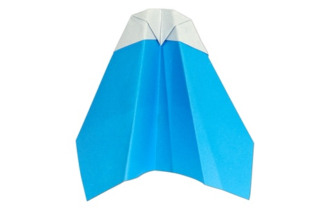 paperplane on a white background Stock Photo - 17441896