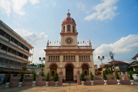 Santa Cruz Church (the Portuguese legacy in Bangkok)  Stock Photo - 17465786