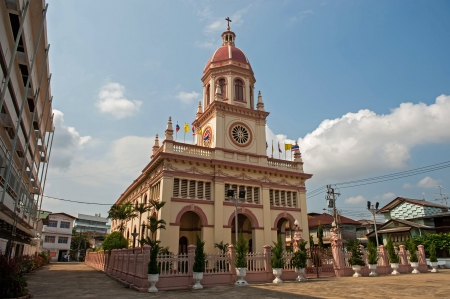 Santa Cruz Church (the Portuguese legacy in Bangkok)  Stock Photo - 17465784