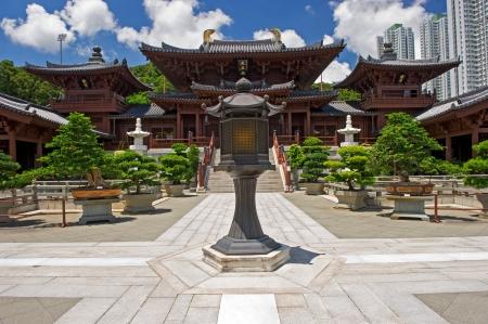 Chi lin Nunnery, Tang dynasty style Chinese temple, Hong Kong Stock Photo - 17887783