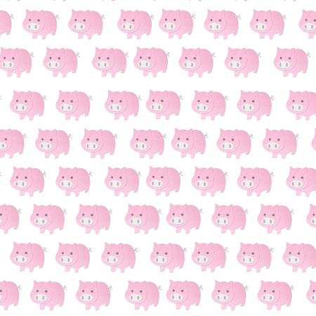 funny pig seamless pattern  photo