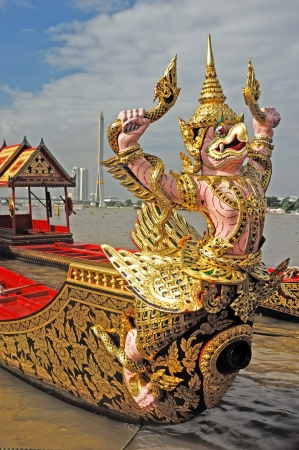 Royal Barge Thailand  Stock Photo - 19170592