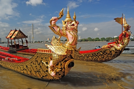 Royal Barge Thailand  Stock Photo