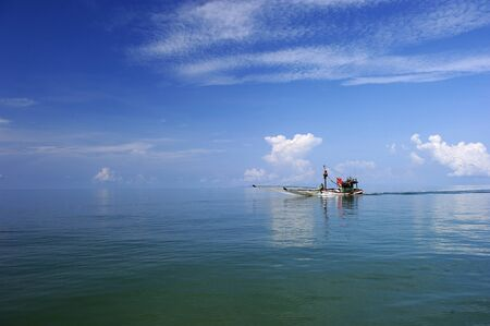 Fishing Boat at Trat in Thailand  photo