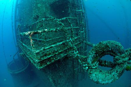 underwater oil rig  photo