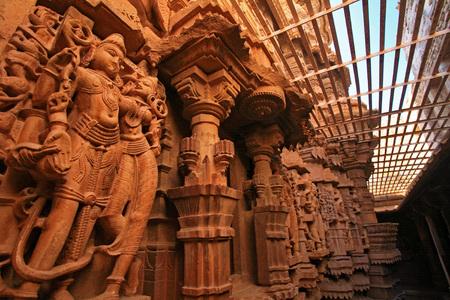 JAISALMER, INDIA - DECEMBER 06: ancient craft inside the Jaislamer Fort on December 6, 2006 in Jaisalmer, India