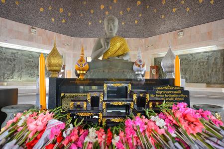 CHIANGMAI, THAILAND JANUARY 17: Buddha statue in Naphapholphumisiri che-di, doi inthanon national park on January 17, 2014 in Chaingmai, Thailand.