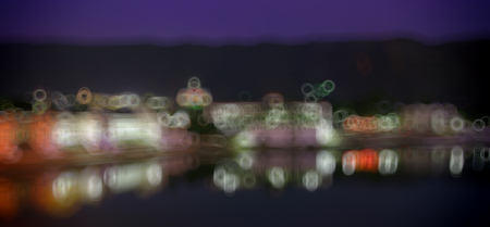 pushkar lake, rajasthan, India, Blurred Photo bokeh photo