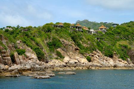 koś: Tropical resort at Ko Tao, Thailand