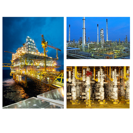 Oil And Gas Industry collage photo