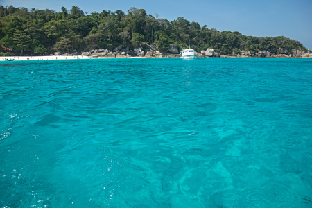 similan: Beach of Similan Islands at Phang Nga in Thailand