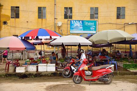 sa: Mu Chang Chai, VIETNAM, JUN 13: daily life of unidentified people in Mu Chang Chai city on June 13, 2015 in Mu Chang Chai, Vietnam.