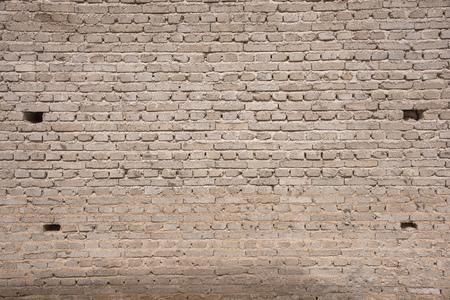 shangrila: brick wall in Shangrila,china Stock Photo