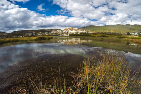 shangrila: Songzanlin - Tibetan Monastery in Shangrila, Yunnan, China