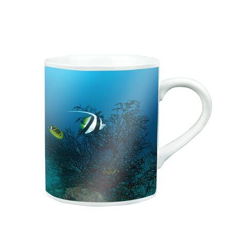 sea fan: Mug Of Tea Or Coffee with photo screen