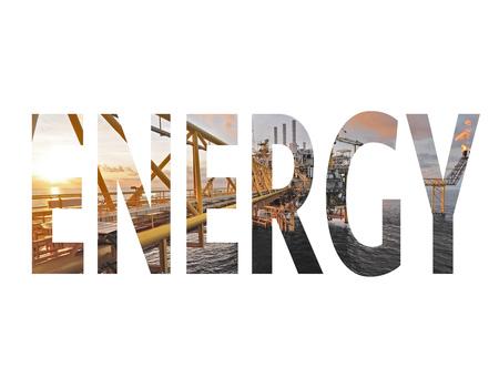 exposicion: Energía palabra doble exposición