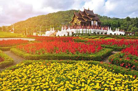 pavillion: Beautiful Royal pavillion at Chiang mai, Thailand. Vintage style. Editorial