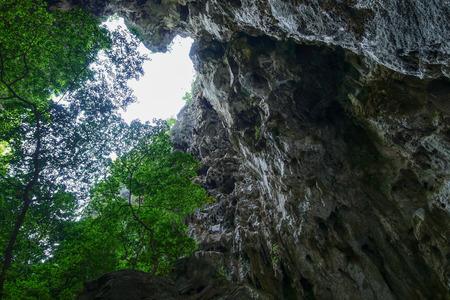 hua: Prayanakorn Cave in samroiyod national park Thailand. Stock Photo