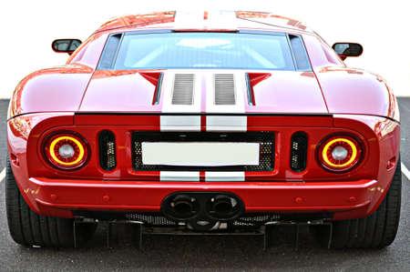 air diffuser: Classic american muscle car reborn Editorial