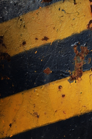 Grunge warning texture photo