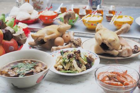 Serviesgoed en niet voor het Chinese Nieuwjaar