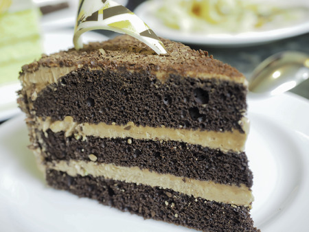 chocolaty: This truly chocolaty Milk Chocolate Fudge Cake really does rock