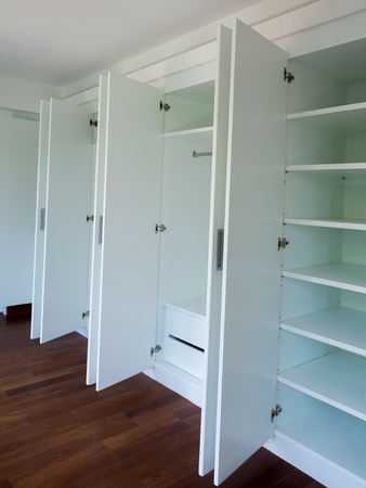 built: Furniture, built-in wardrobe chic.