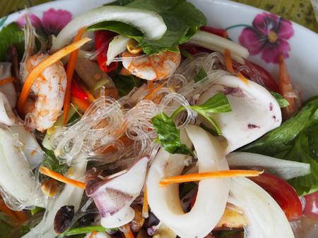 sen: Mung Bean Noodle Spicy Salad ,Yum woon sen