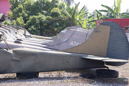aerospace industry: Plane Wreck of the Old Thailand Editorial