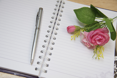mentioned: Pen Note flowers blurred memories