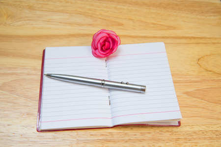 mentioned: Pen Note flowers with blurred background abstract.