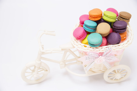 carry out: The bikes carry out the buttercream.