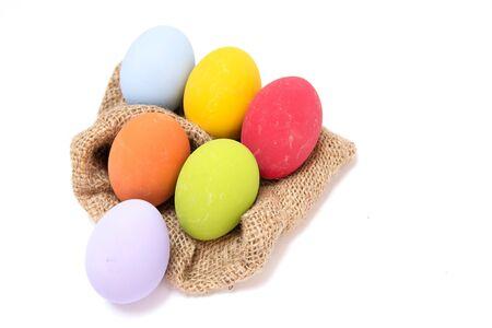 sacks: Preserved egg sacks on an abstract background