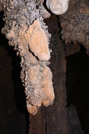 stalagmites: Stalactites, stalagmites and underground rock formations old history
