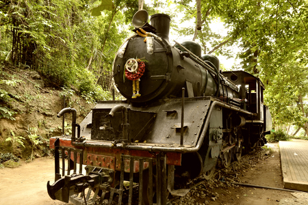 steam locomotives: steam locomotives imported to Thailand from Japan