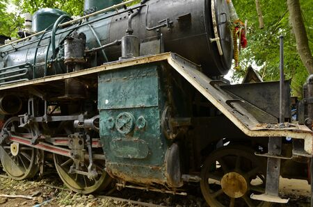 locomotives: steam locomotives imported to Thailand from Japan